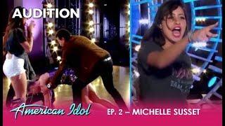 Michelle Susset: A SASSY Venezuelan Mamacita Creates A SCENE! | American Idol 2018