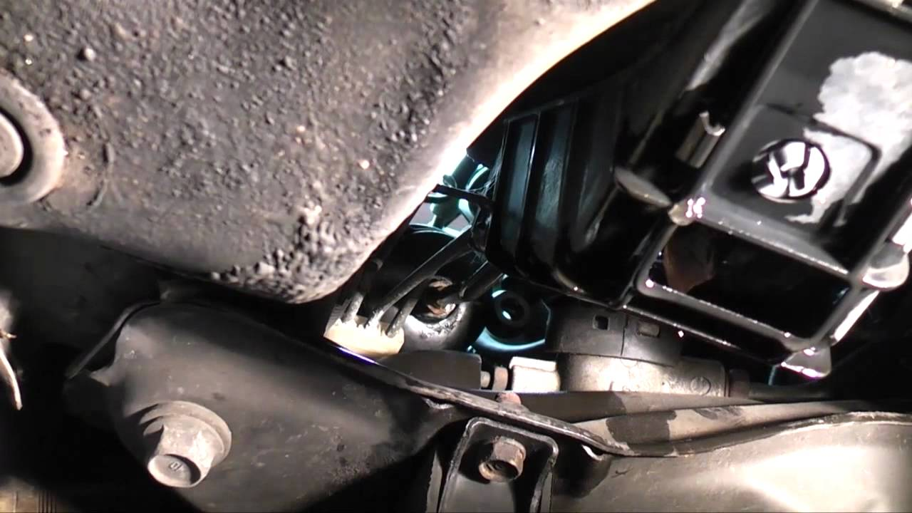 Honda Accord Fuel Filter Replacement - YouTube