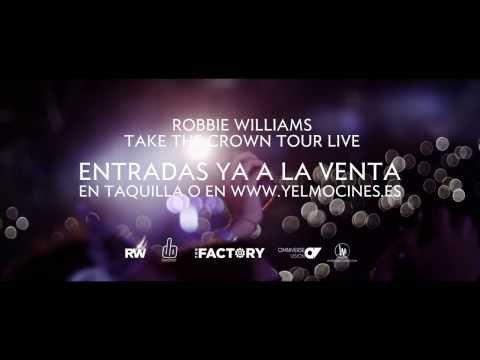 Robbie Williams - Take the Crown Tour live in Tallinn