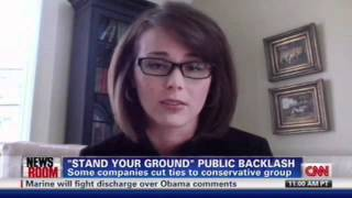 """STAND YOUR GROUND"" LAW BACKLASH AGAINST ALEC--SUNLIGHT FOUNDATION SOURCE--CNN"