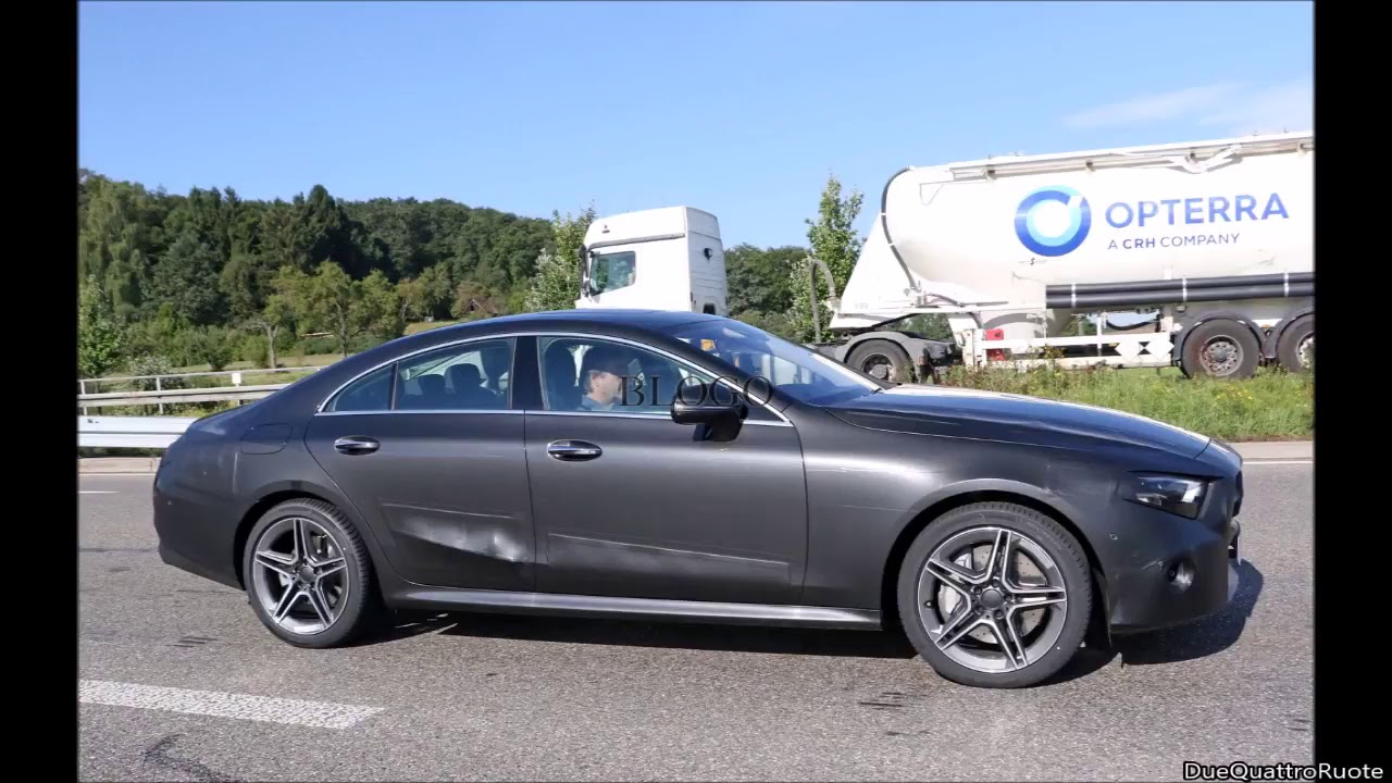 2018 Mercedes Cls Spy Shots Youtube