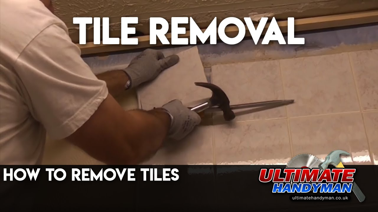 How To Remove Tiles YouTube - Air chisel tile removal