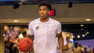 Ochai agbaji scored 20 points and devon dotson added 18 to lead no. 2 kansas a 72-58 victory over colorado on saturday, snapping the buffalo...
