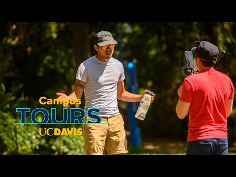 Live Campus Tour Of UC Davis!