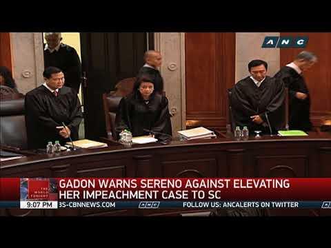 House committee invites CJ Sereno to next hearing