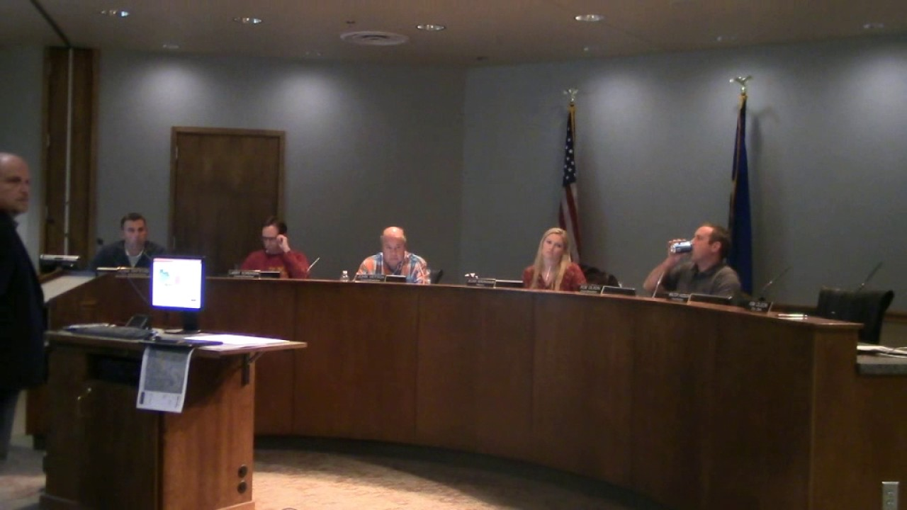 Albertville, MN City Council Meeting   November 7, 2016