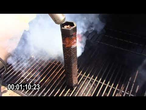 Lighting Smoking Wood Pellets in 1 Minute