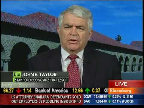 Taylor discusses the economy with Tom Keene on Bloomberg TV, 12-16-2010
