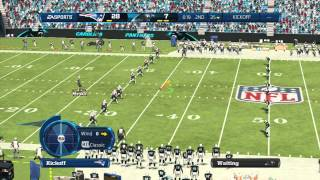 Madden 13:KILLER HANDS-Madden 13 ONLINE GAMEPLAY-PATRIOTS Vs. PANTHERS