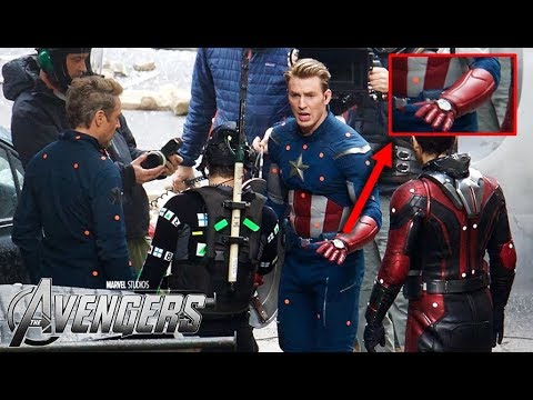 Avengers 4 Leaked Set Photos [Possible Spoiler!]