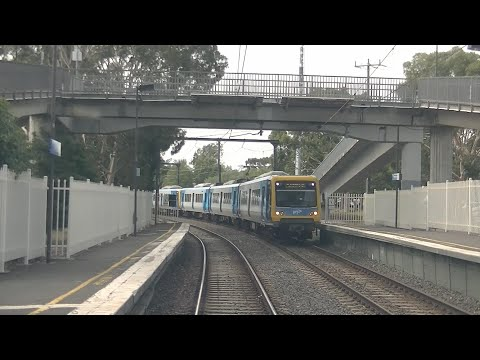Driver's View Glen Waverley Line Melbourne