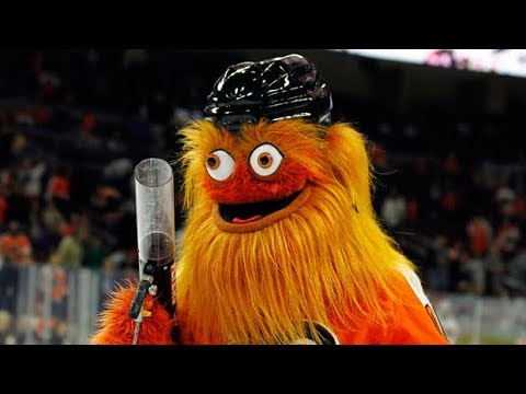 'Gritty' debuts as Philadelphia Flyers new mascot