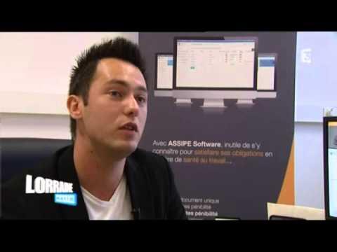 France 3 Lorraine Matin: Christophe Schmitt et Assipe Software