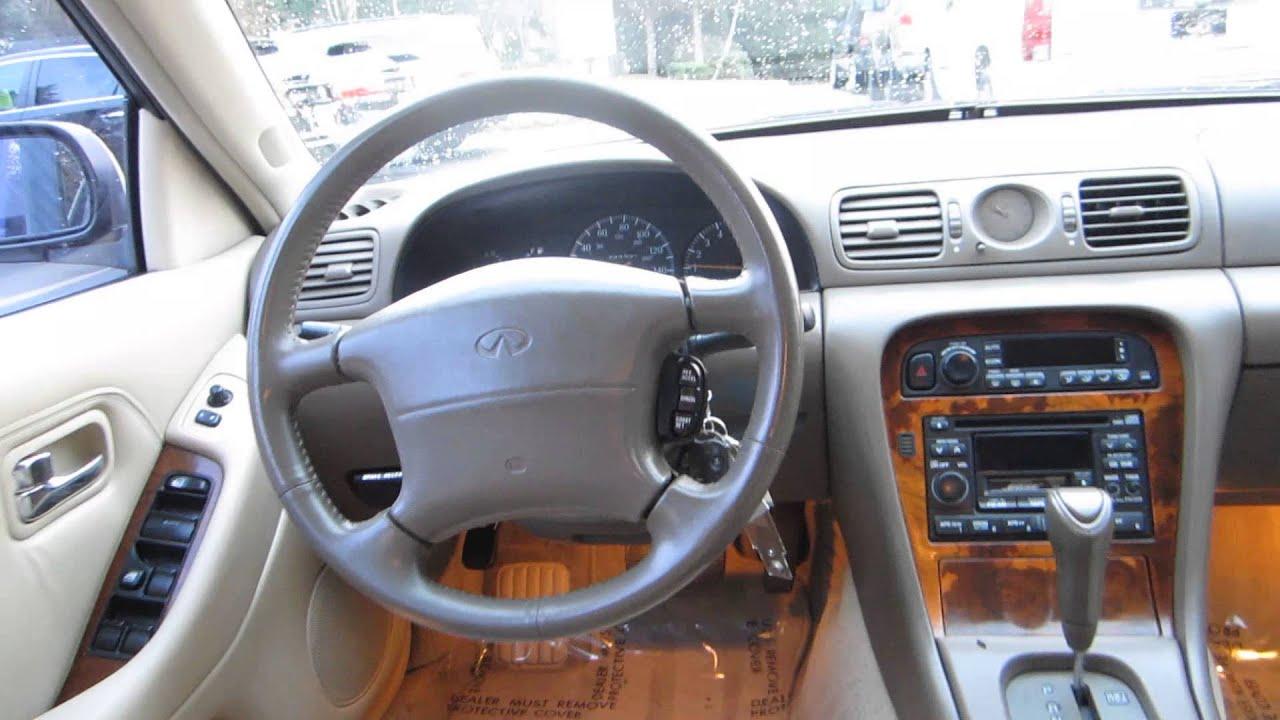 hight resolution of 1997 infiniti j30 white stock 14725a interior