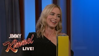 Emily Blunt on Daughter's Reaction to Mary Poppins streaming