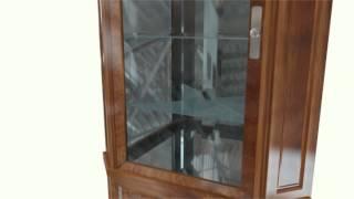 Daniel Steffen | Curio Cabinet With Concealed Gun Rack