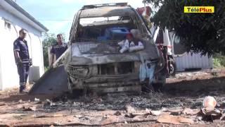 À Khoyratty - Il agresse quatre policiers et incendie leur véhicule