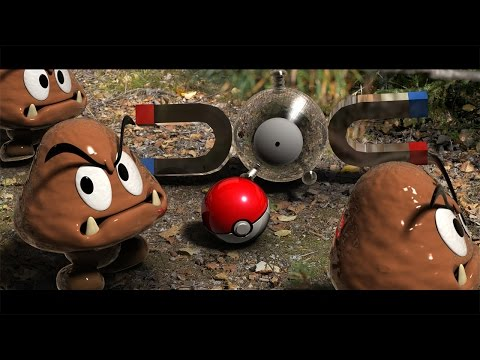 Pokmon and Super Mario in real life