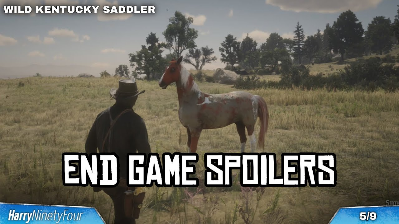 Red Dead Redemption 2 - All Wild Horse Breed Locations Guide ...