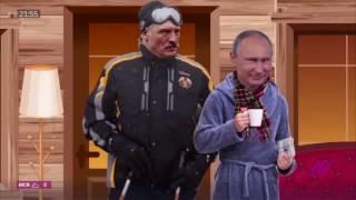 Мультфильм-фантазия телеканала Дождь о встрече Путина и Лукашенко в Сочи