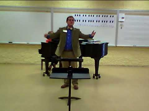 Cells Planets - Rehearsal with the High Point University Chamber Singers