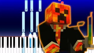 Minecraft Song - I Am Believing a Minecraft CrazyCraft Parody - Lachlan (Piano Tutorial)