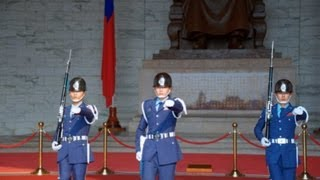 Chiang Kai-shek Memorial Hall,中正紀念堂 衛兵交代式 2013/07/23