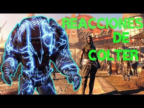 Fallout 4|Curiosidades y Secretos|Colter reacciona a nuestras armaduras|Todas las reacciones