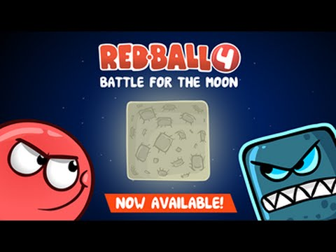 Red ball 4 battle for the moon Games Online - 4J.Com