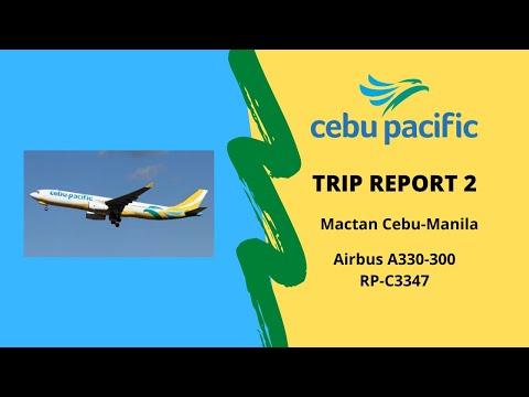 [Trip Report]#2 Airbus A330 Cebu Pacific|RP C3347 | Cebu (CEB) to Manila(MNL)