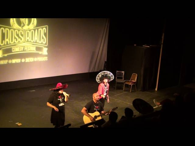 Los improviachis at Crossroads Musical Improv Festival @ Theatre On The Square