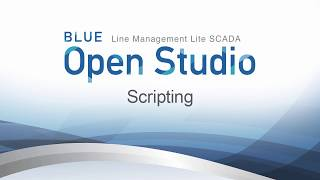 Video: BLUE Open Studio: Scripting