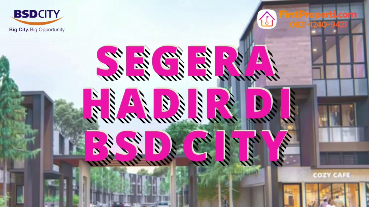 Rumah Murah BSD City - BLV BSD City harga mulai 1,1M an ...