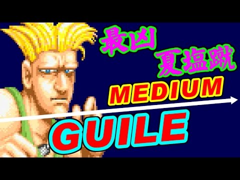 [骸流] ガイル(Guile) - STREET FIGHTER II CHAMPION EDITION [LS-32短版]