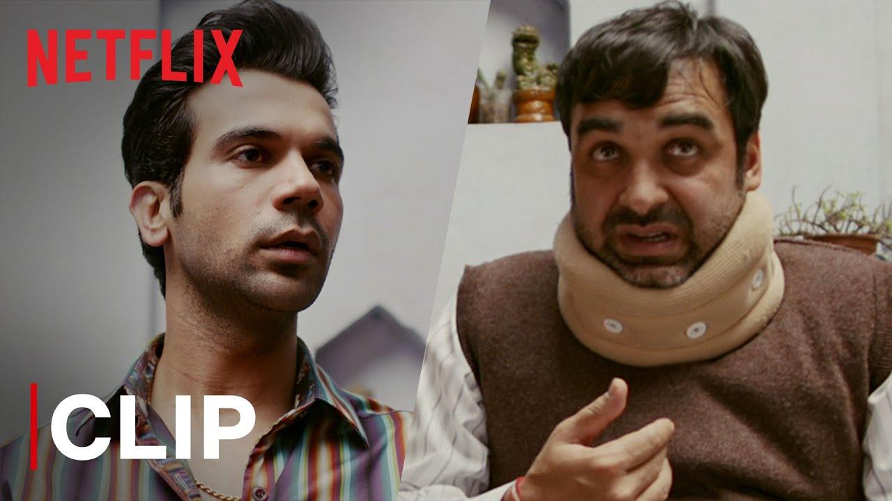 Download Rajkummar Rao Fixes Pankaj Tripathi's Neck   Funny Scene   Bareilly Ki Barfi   Netflix India
