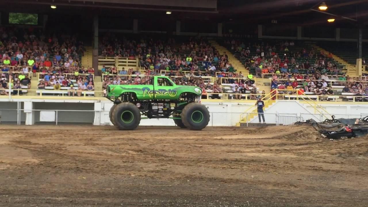 Reptoid Monster Truck Wheelie Contest Jackson Mi Youtube