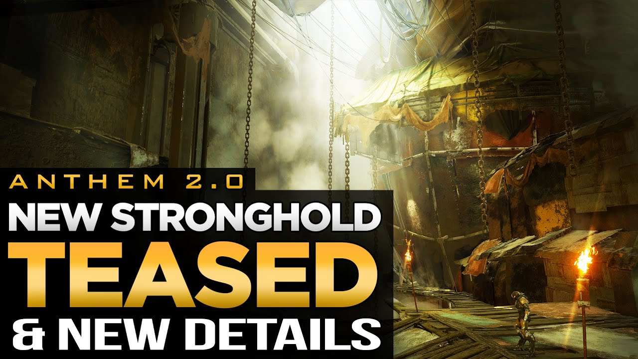 Anthem 2.0 | New Stronghold Teased: Longfall Ruins