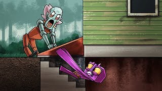Minecraft Grampy Escape - GRANPA'S SECURE BASEMENT! (Granny Horror Game)