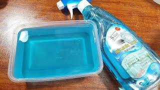 Clear Slime, Làm Slime Trong Suốt Với Nước Lau Kính