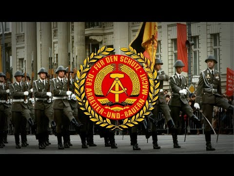 "German Democratic Republic (1949–1990) NVA March ""Yorckscher Marsch"""