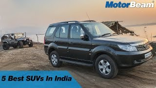 Top 5 SUVs In India - No Fake SUVs Here | MotorBeam