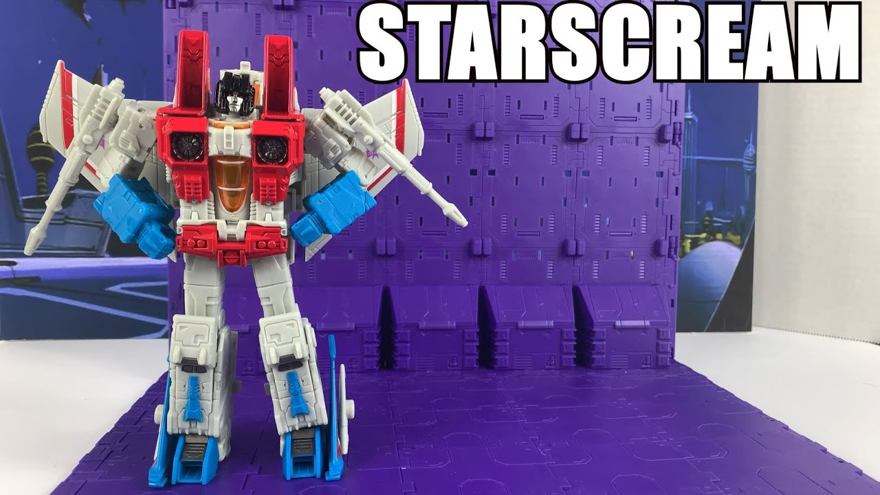 Transformers Earthrise Starscream Unboxing and Review