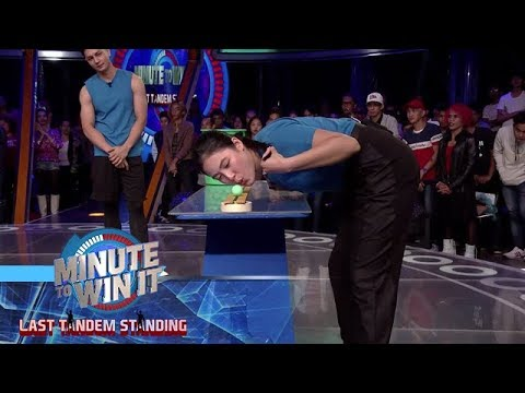 Jug Balls | Minute To Win It - Last Tandem Standing