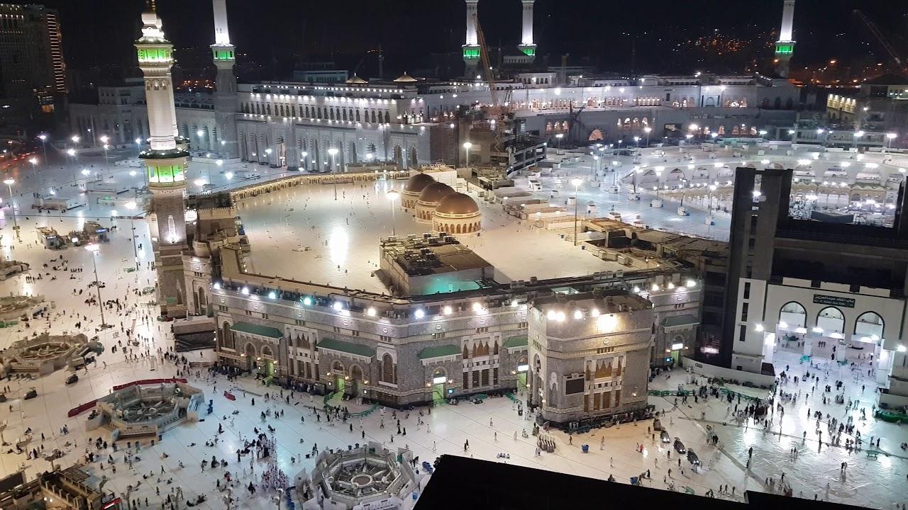 Panoramic Views Of Haram Makkah 4k Youtube