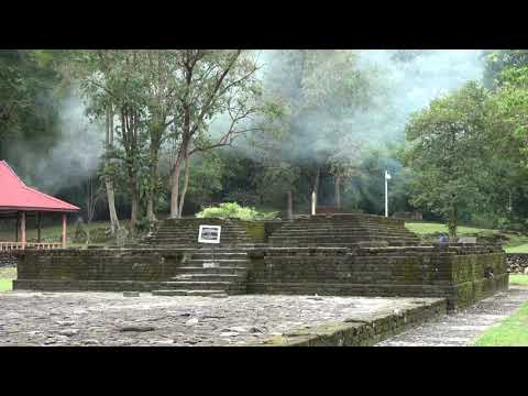 """4K: """"Chinese Buddhist temple ruins in Malaysia"""" (10th century)"""
