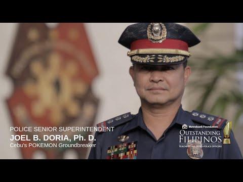 2017 MBFI Outstanding Filipino POLICE SENIOR SUPERINTENDENT JOEL B. DORIA