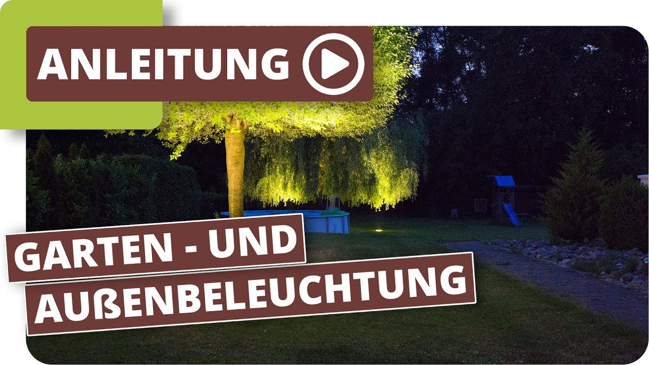 Gartenbeleuchtung Led System Planeo Lichtsystem Gartenbeleuchtung Mit Led Außenleuchten
