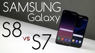 Samsung Galaxy S8 vs Galaxy S7 - Porównanie / Test / Opinie / Comparison