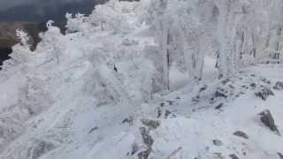 2014 12 27 明神平から桧塚奥峰 久しぶりの青空捕まえた!