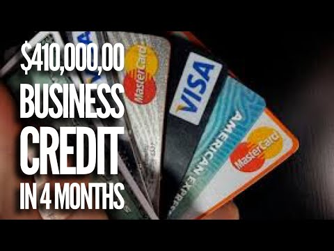 $410,000 in business credit in 4 months with no personal guarantee.